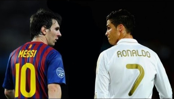 Lionel Messi Cristiano Ronaldo, best football player in the world nowadays