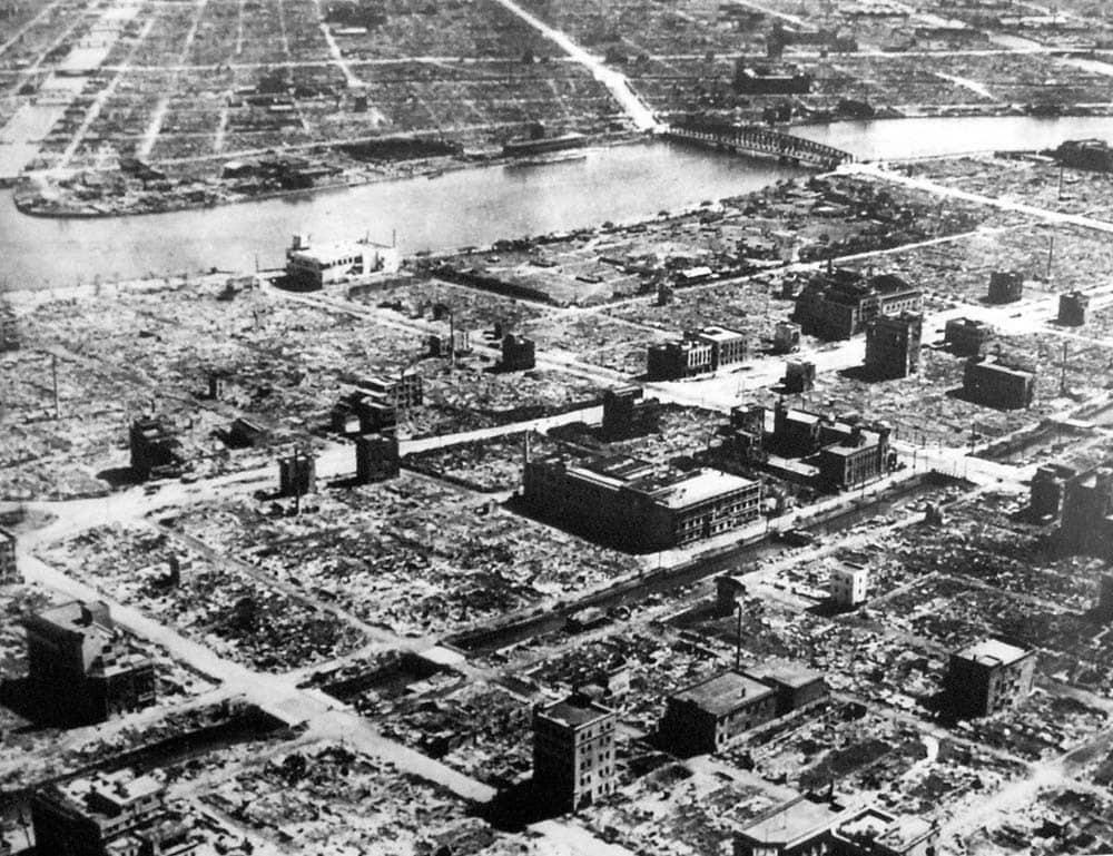 Tokyo, Jepang 1945